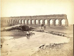 Parco degli Acquedotti foto antica