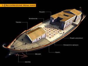 nave di nemo antica roma