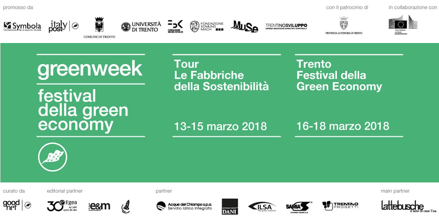Green week trento banner
