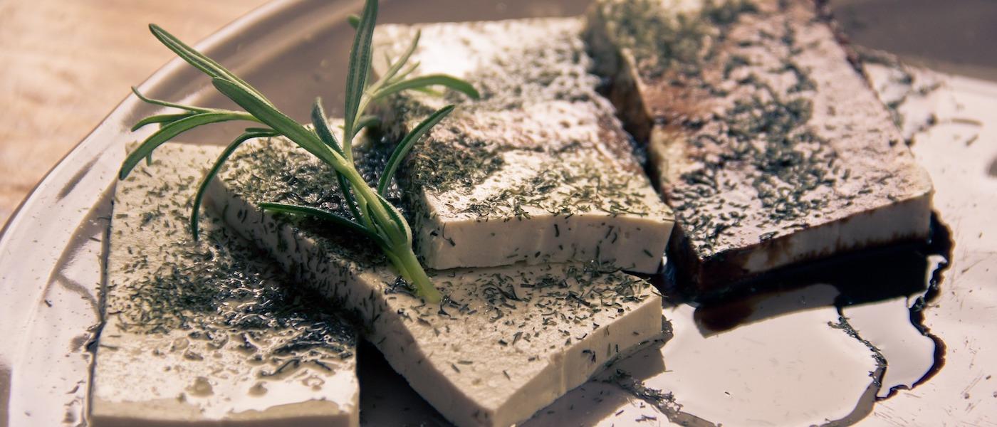 il Tofu con rosmarino