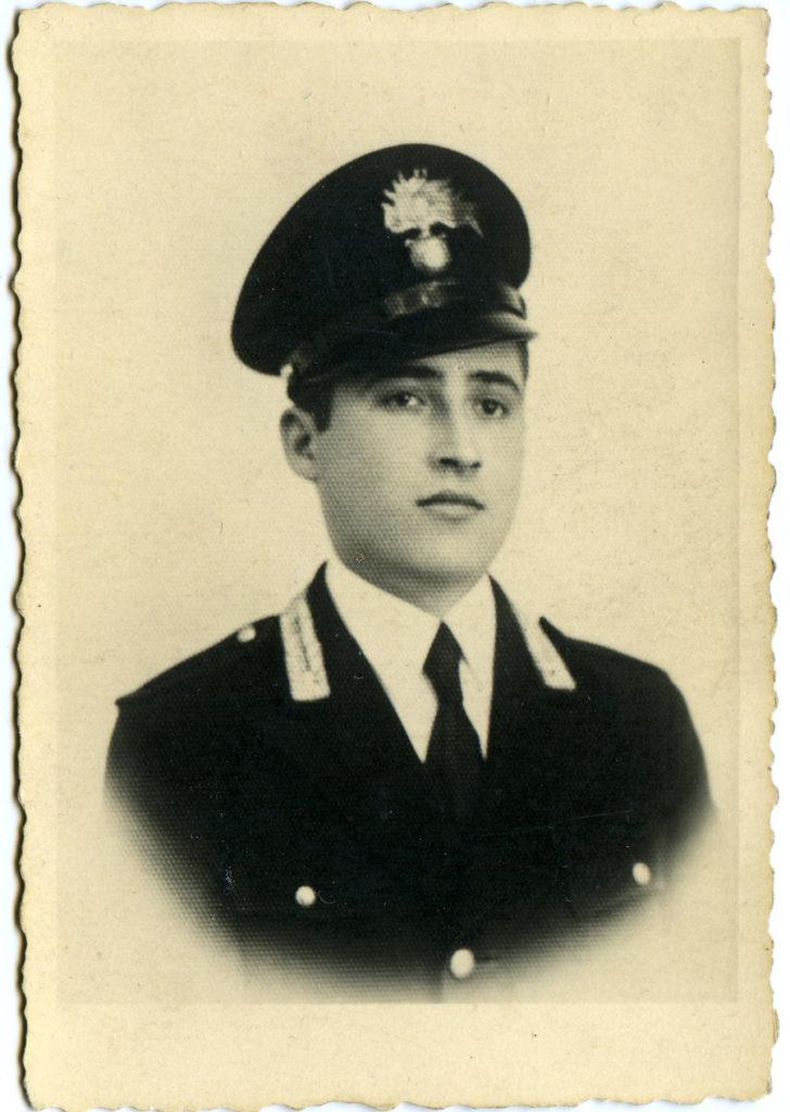 Mirko Andreoli ex carabiniere