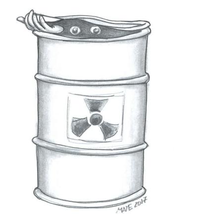 Radioattivo. La vignetta di Greenious