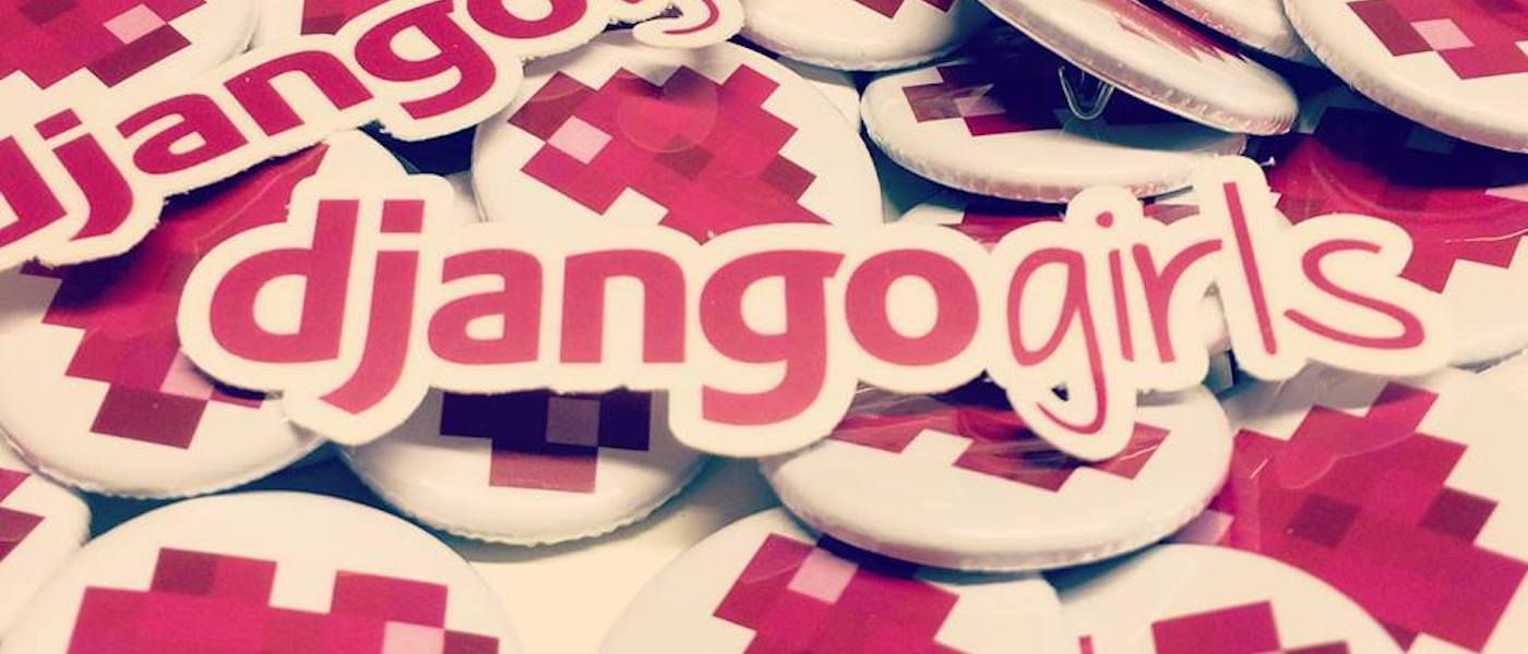 Django Girls adesivi