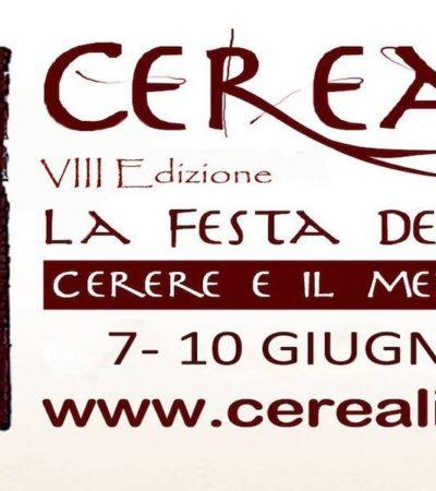 """""""Cerealia. La Festa dei Cereali. Cerere e il Mediterraneo"""""""