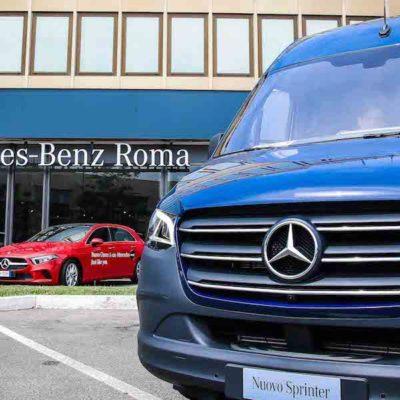 """Mercedes annuncia: """"veicoli commerciali elettrici dal 2019"""""""