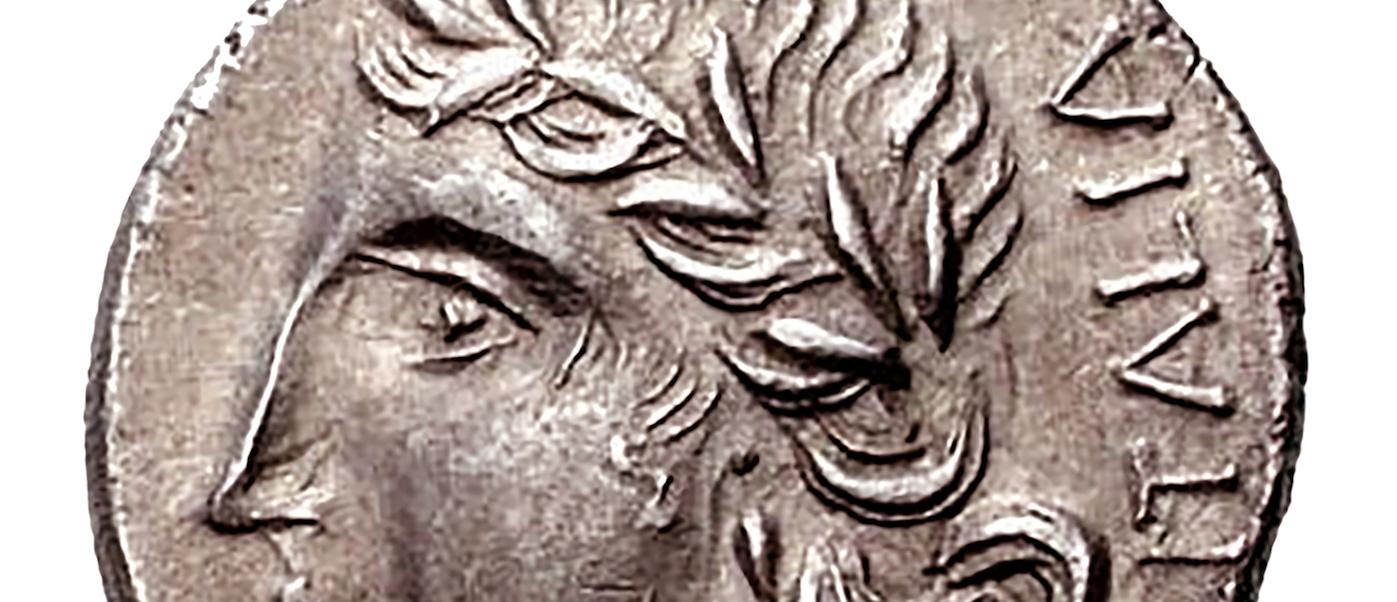 moneta con la scritta Italia
