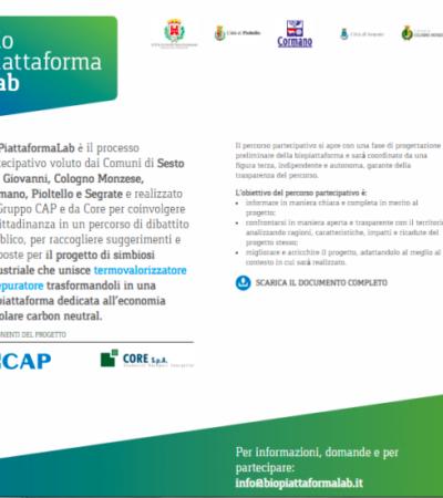 Biopiattaformalab,  trasformare il termovalorizzatore di Sesto San Giovanni