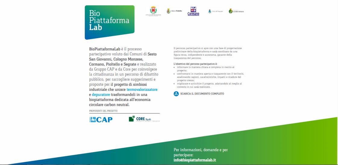 BioPiattaformaLab locandina