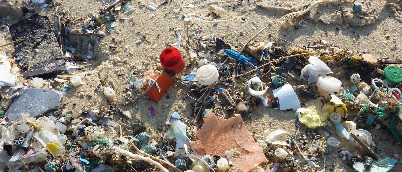 plastica nel mar tirreno