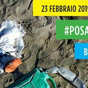 #Posaplastica: tutti insieme per pulire le spiagge