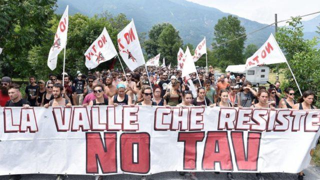 TAV proteste
