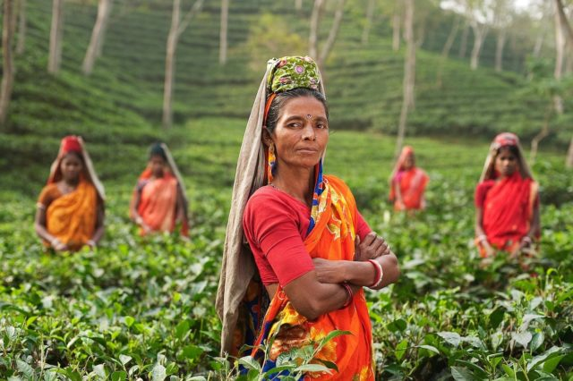 donne a lavoro India