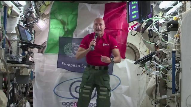 Luca Parmitano sul riscaldamento globale