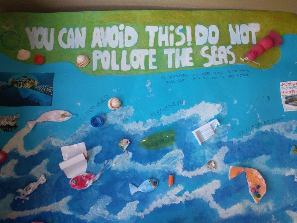 cartellone plastic free scuola verona