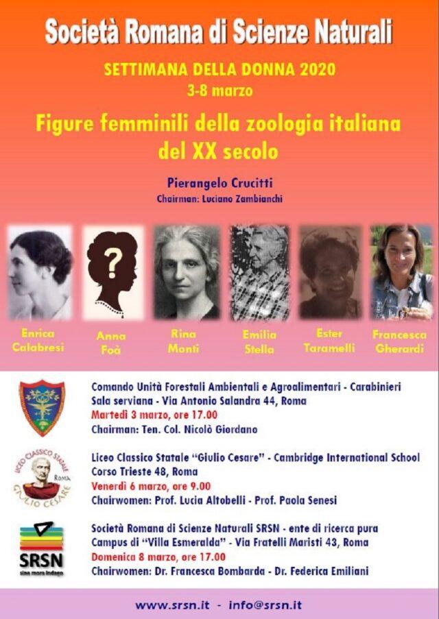 zoologia italiana locandina